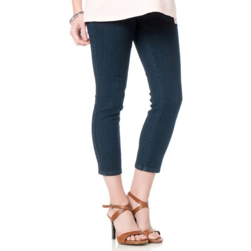 Oh Baby by Motherhood™ Secret Fit Belly Skinny Crop Jeans - Maternity