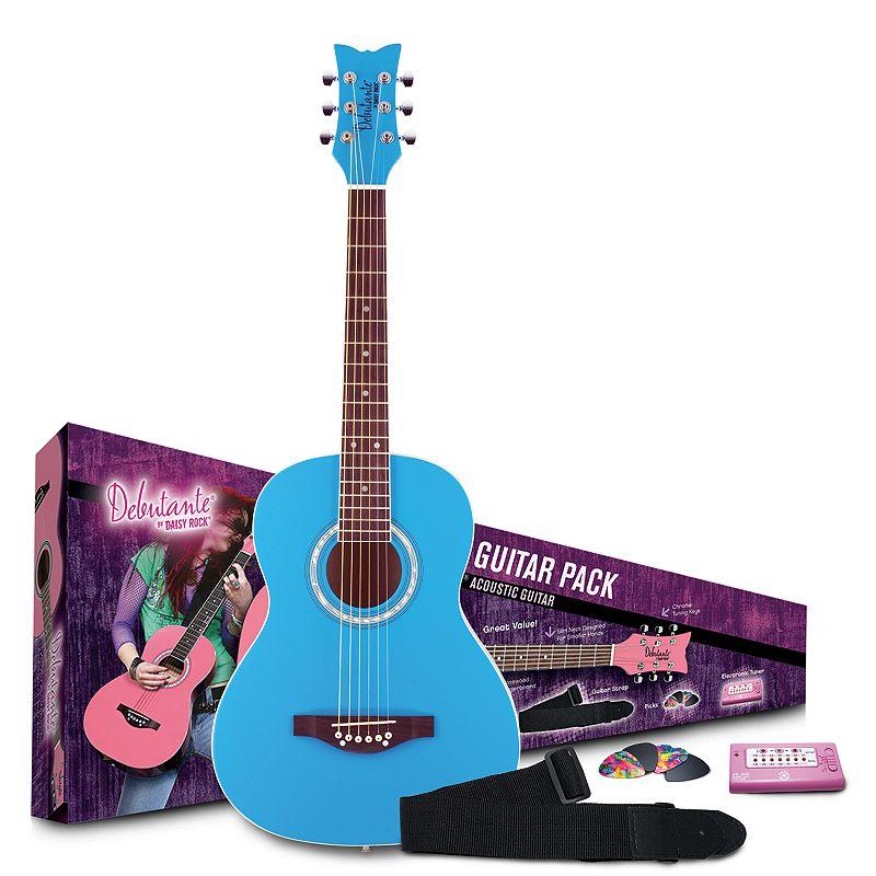 Daisy Rock Debutante Junior Miss Kid's Acoustic Guitar Starter Pack