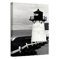 36'' x 24'' ''Montara Lighthouse'' Canvas Wall Art by Kathy Yates