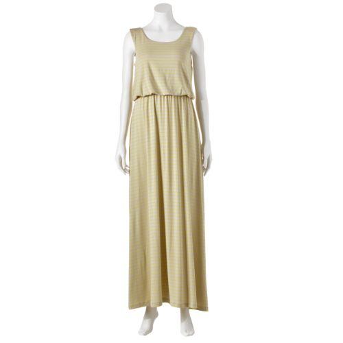 Apt. 9® Striped Maxi Dress - Women's