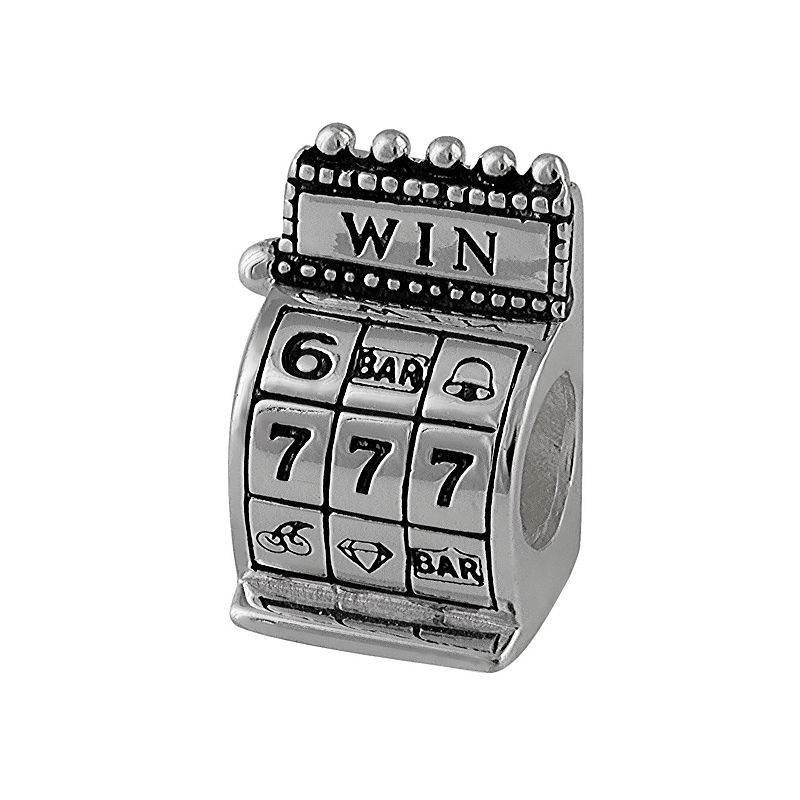 Individuality Beads Sterling Silver Slot Machine Bead