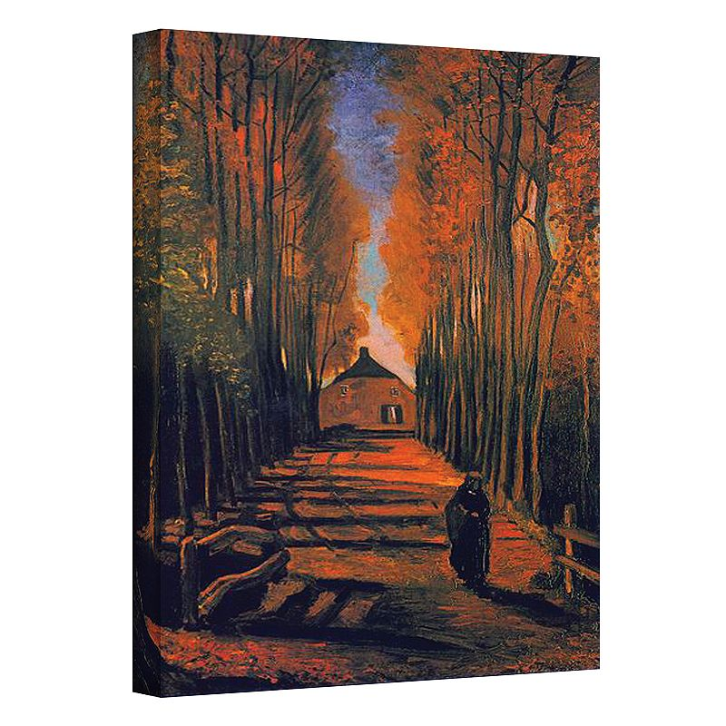 32'' x 24'' ''Avenue of Poplars in Autumn
