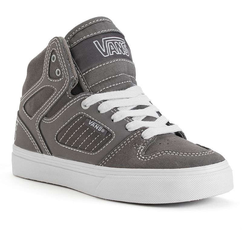 Vans Allred Checkered High-Top Skate Shoes - Boys