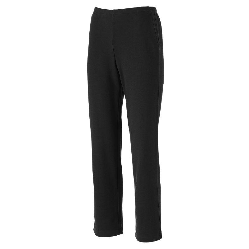 Petite Croft & Barrow® Pull-On Knit Lounge Pants