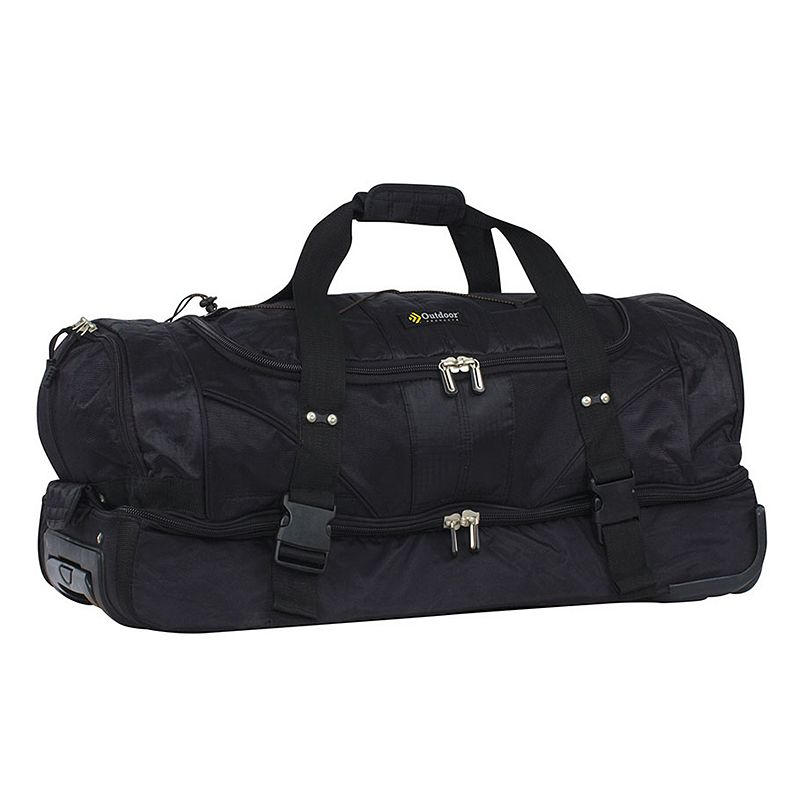 Outdoor Products LaGuardia 30-Inch Drop-Bottom Rolling Duffel Bag