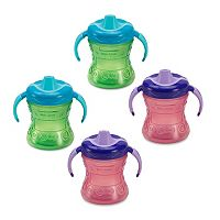 Gerber Graduates 4-pk. 7-oz. Fun Grips Sippy Cups by NUK