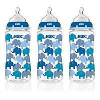 NUK 3-pk. 10-oz. Medium Flow Orthodontic Bottles