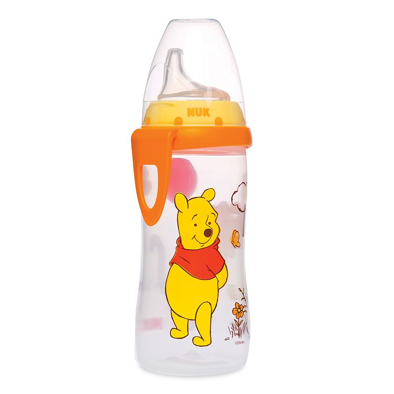 Disney Winnie the Pooh and Friends Silicone Spout Active Cup by NUK