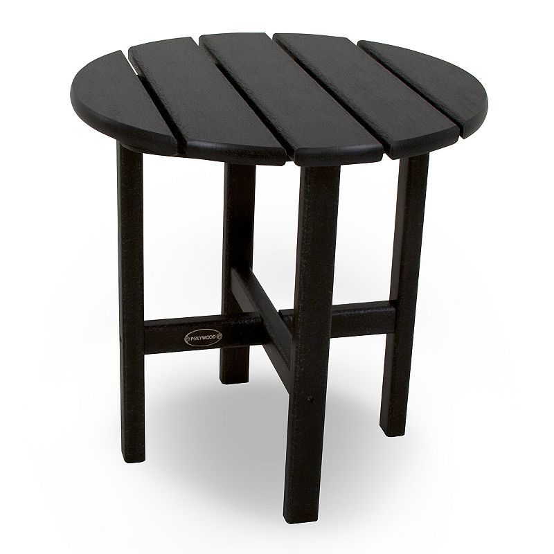 POLYWOOD Round Side Table - Outdoor