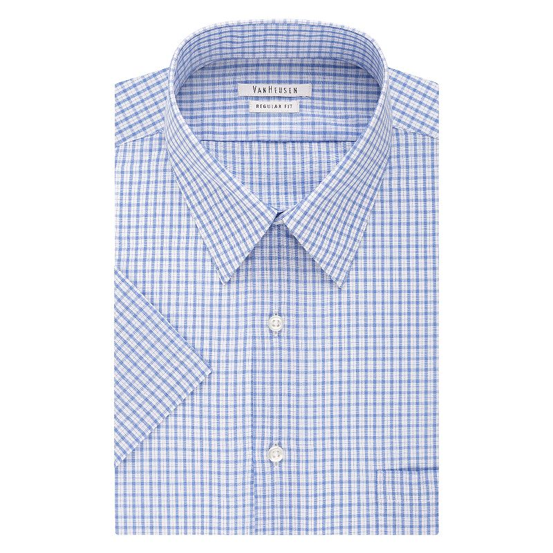 Van Heusen Regular-Fit Poplin Easy-Care Point-Collar Dress Shirt