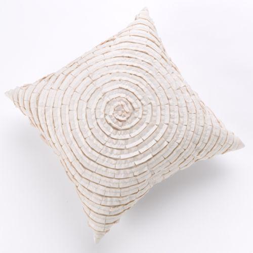 Spiral Ribbon Decorative Pillow