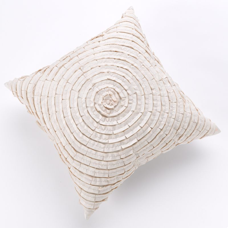 Spiral Ribbon Decorative Pillow