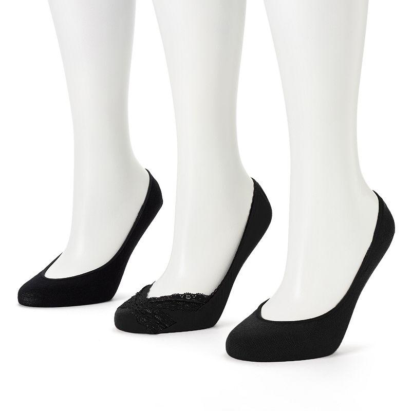 Apt. 9® 3-pk. Seamless Extra Low-Cut Socks