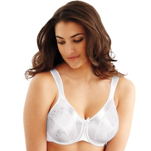 Bali Bra: Satin Tracings Full-Figure Minimizer Bra 3562