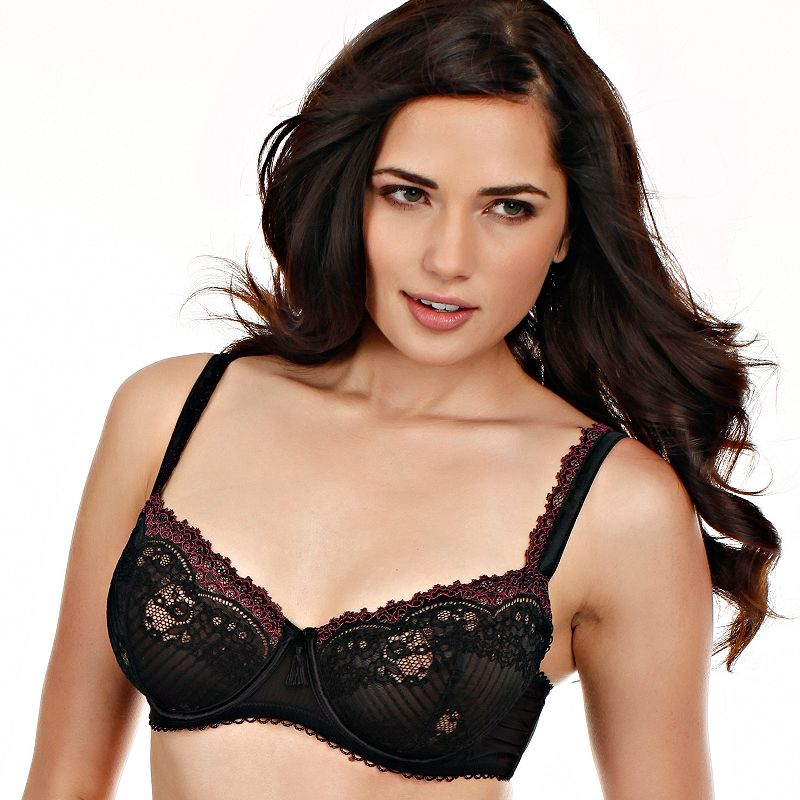 Paramour by Felina Bra: Amourette Unlined Demi Bra 115056