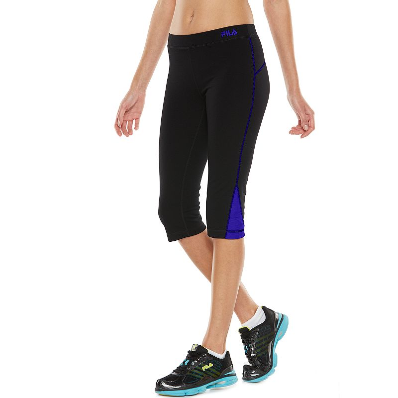 Women's FILA SPORT® Colorblock Active Capri Yoga Leggings