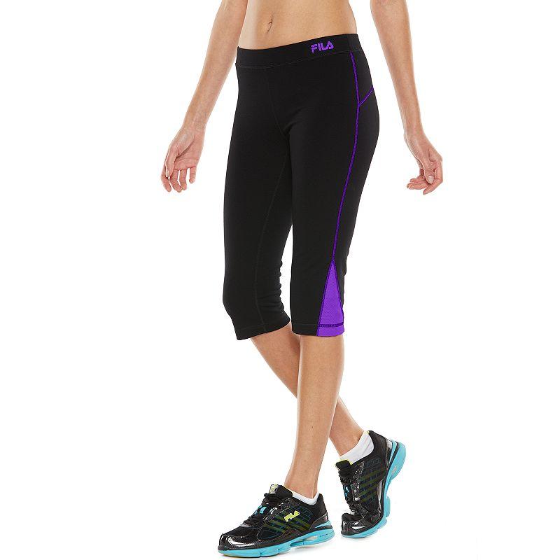 FILA SPORT® Colorblock Active Capri Yoga Leggings - Women's