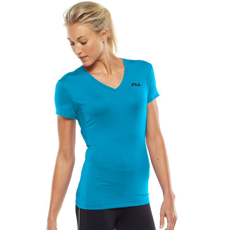 Fila Sport Core Essential Racer Performance Tshirt Women's Blue T Shirt | Shirts, Tops and Clothing