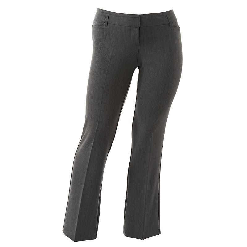 Juniors' Plus Size HeartSoul Dress Pants