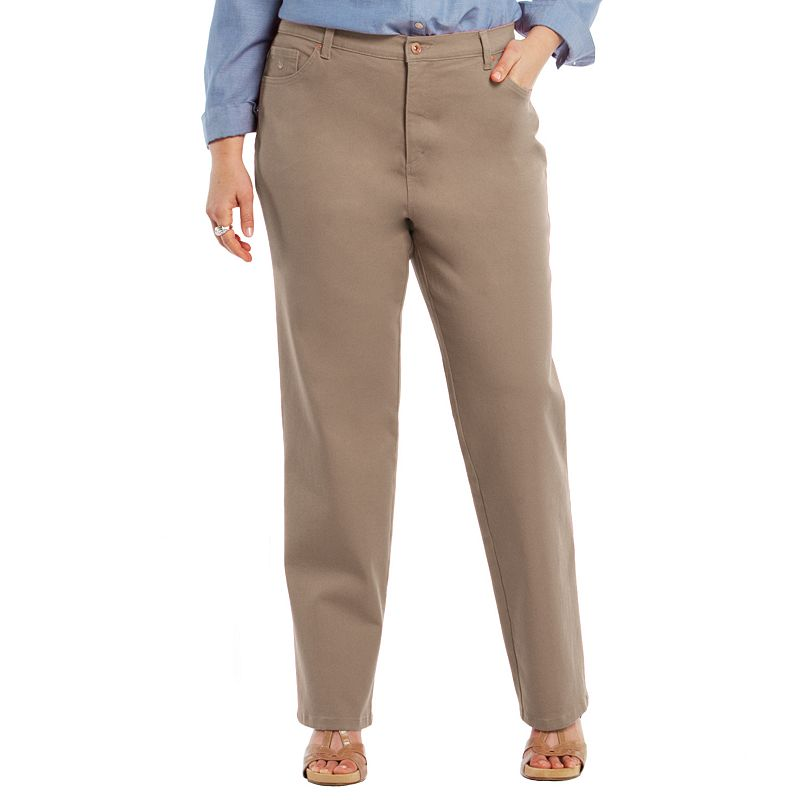 Plus Size Gloria Vanderbilt Amanda Classic Tapered Jeans
