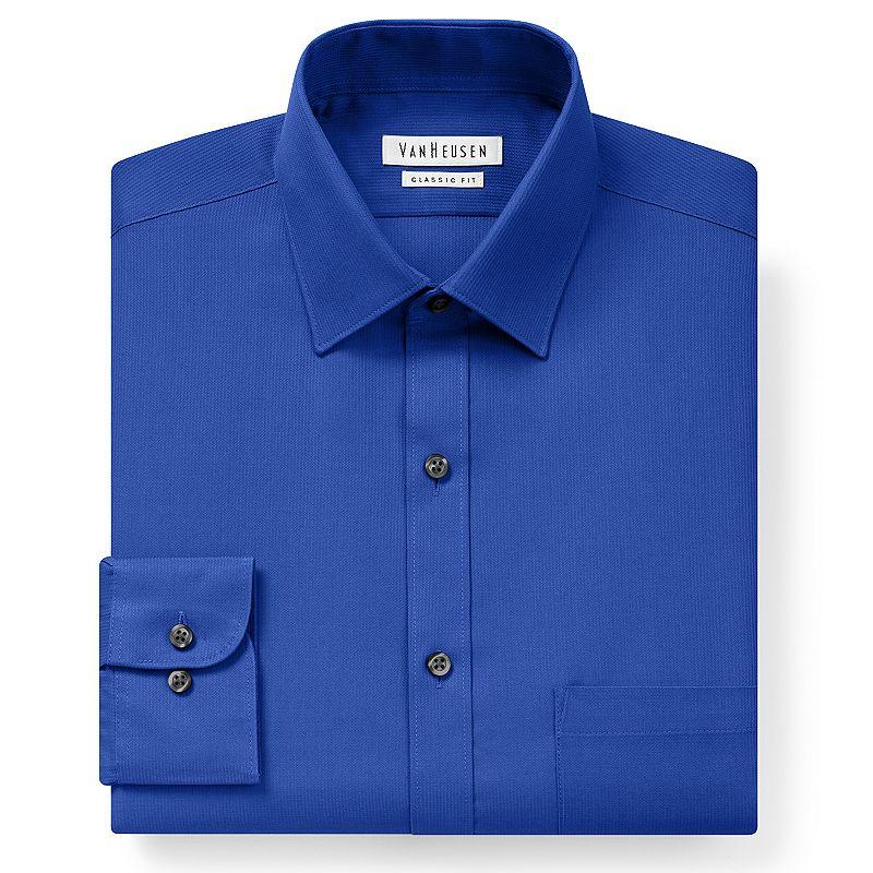 Van heusen modern shirt kohl 39 s for Van heusen men s regular fit pincord dress shirt