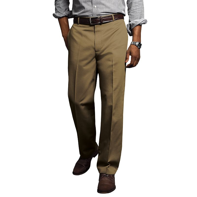 Dockers® Comfort-Waist D3 Classic-Fit Full-Elastic Flat-Front Pants - Men
