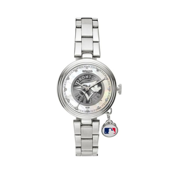 Sparo Charm Watch - Women's Toronto Bluejays Stainless Steel
