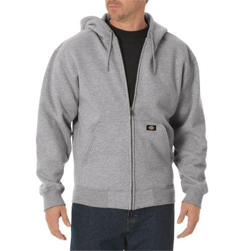 Heather Gray Zip up Hoodie Fleece Zip-up Hoodie Men
