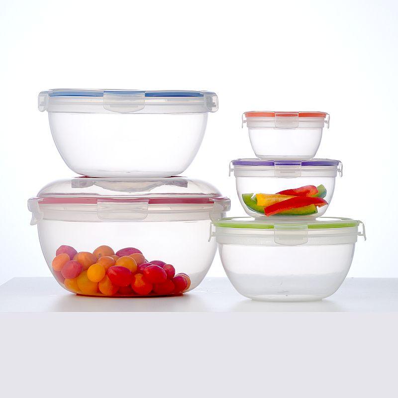 Food Network™ 10-pc. Storage Bowl Set