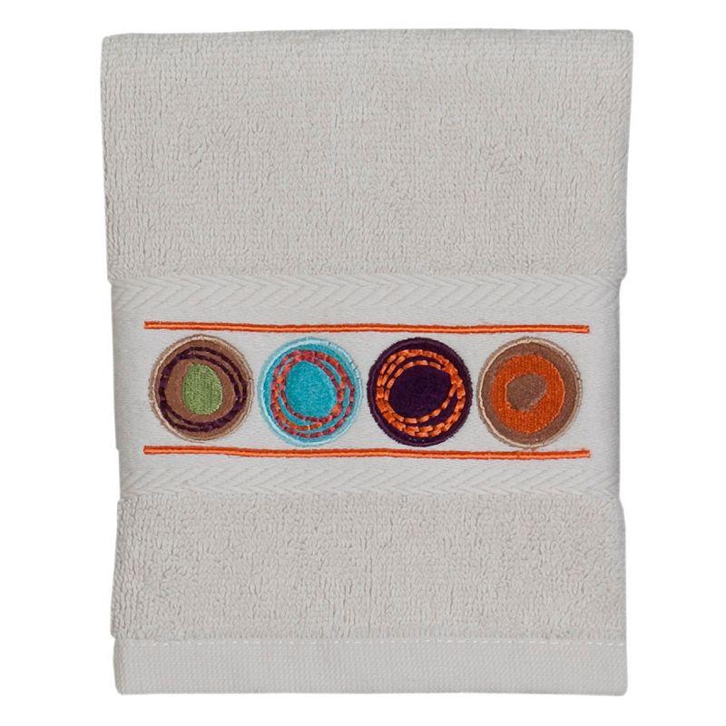 Creative Bath Dot Swirl Washcloth