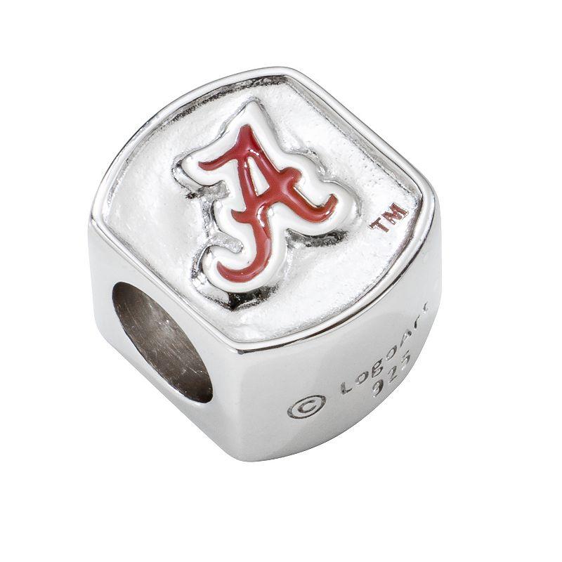 LogoArt Alabama Crimson Tide Sterling Silver Bead