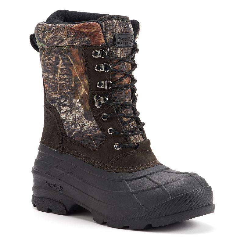 Kamik Nations Plus Camo Men's Winter Boots
