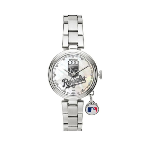 Sparo Charm Watch - Women's Kansas City Royals Stainless Steel