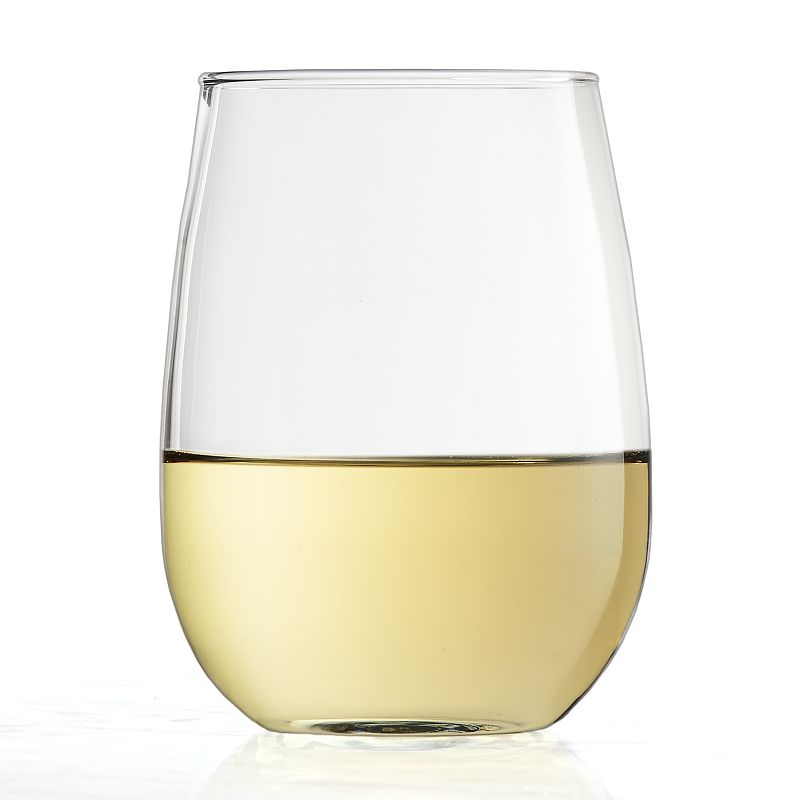 Food Network™ Modesto 4-pc. Stemless White Wine Glass Set