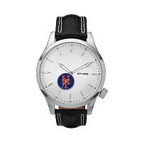 Sparo Watch - Men's Icon New York Mets Leather