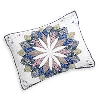 Always Home Sunburst Embroidered Sham - Standard
