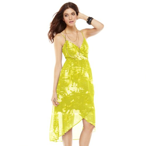 Apt. 9® Tie-Dyed Empire Maxi Dress - Women's
