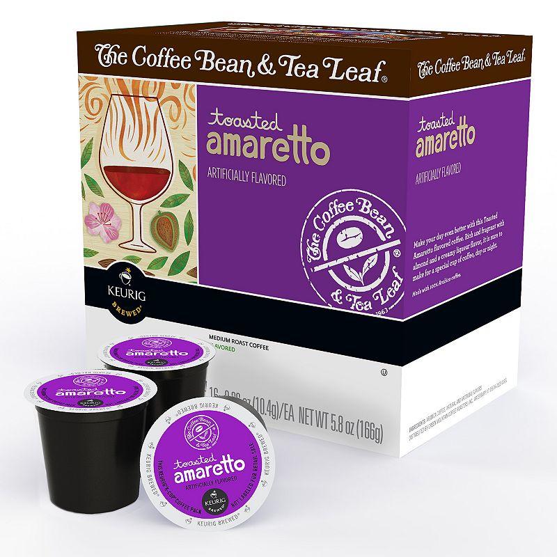 Keurig® K-Cup® The Coffee Bean and Tea Leaf Toasted Amaretto Medium Roast Coffee Pod - 16-pk.