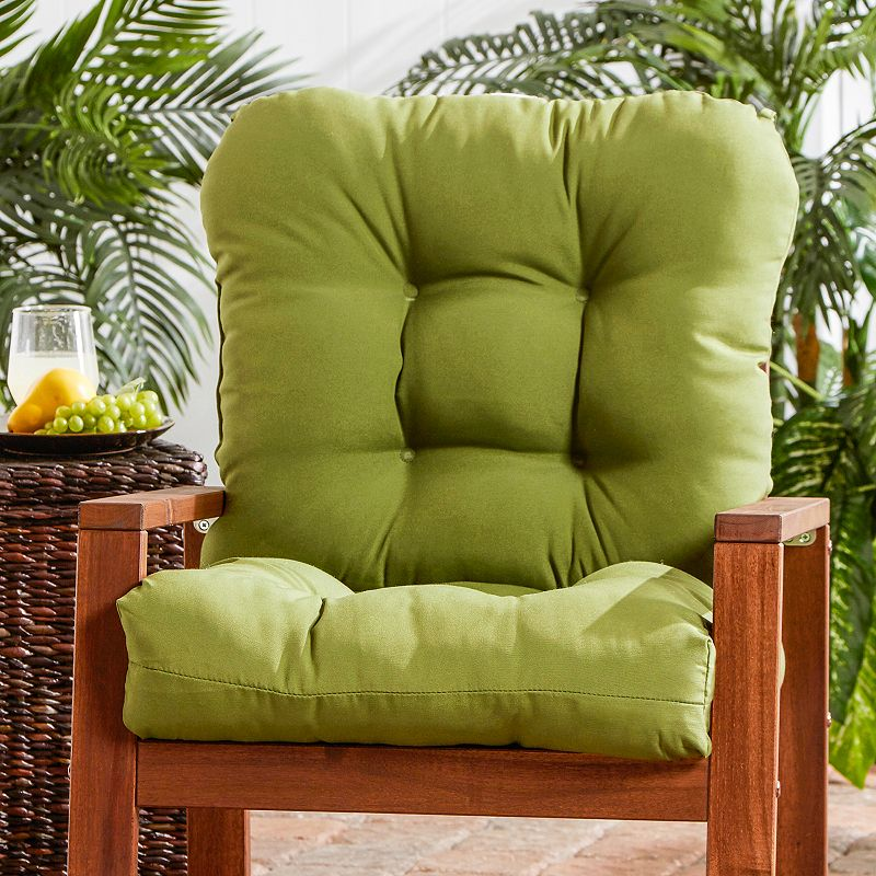 Greendale Home Fashions Seat and Back Outdoor Chair Cushion - Short