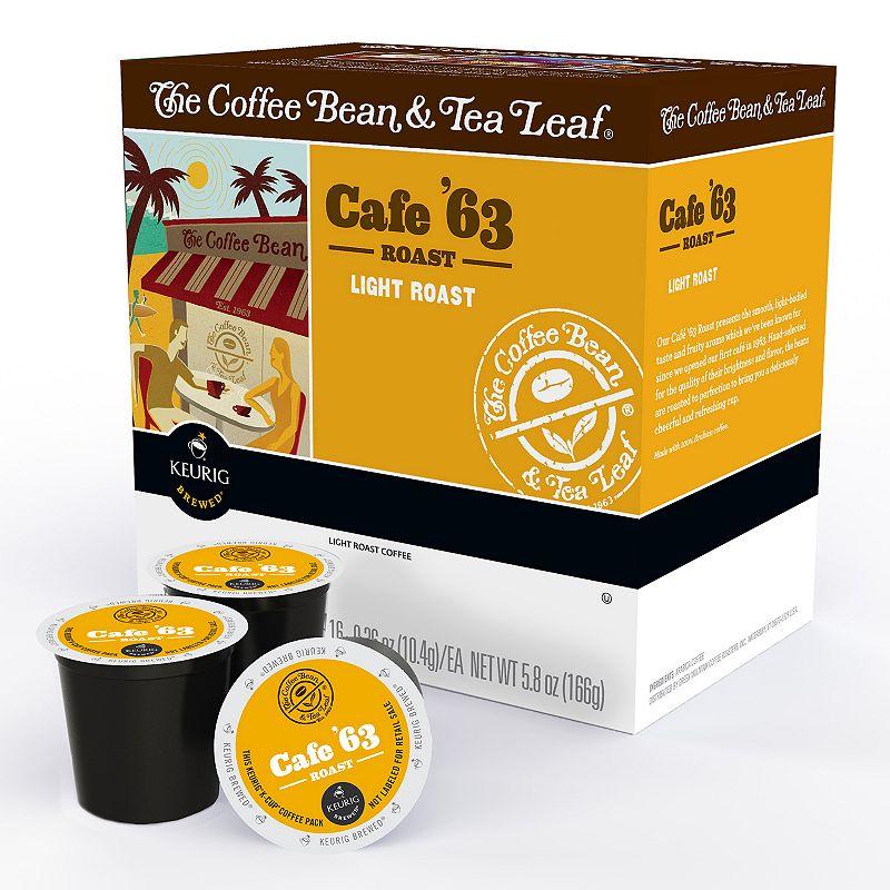 Keurig® K-Cup® The Coffee Bean and Tea Leaf Cafe '63 Light Roast Coffee Pod - 16-pk.