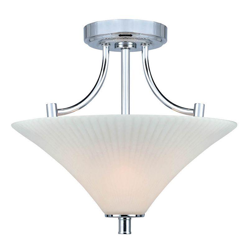 Lite Source Inc. Ragnar Semi-Flush Mount Ceiling Light