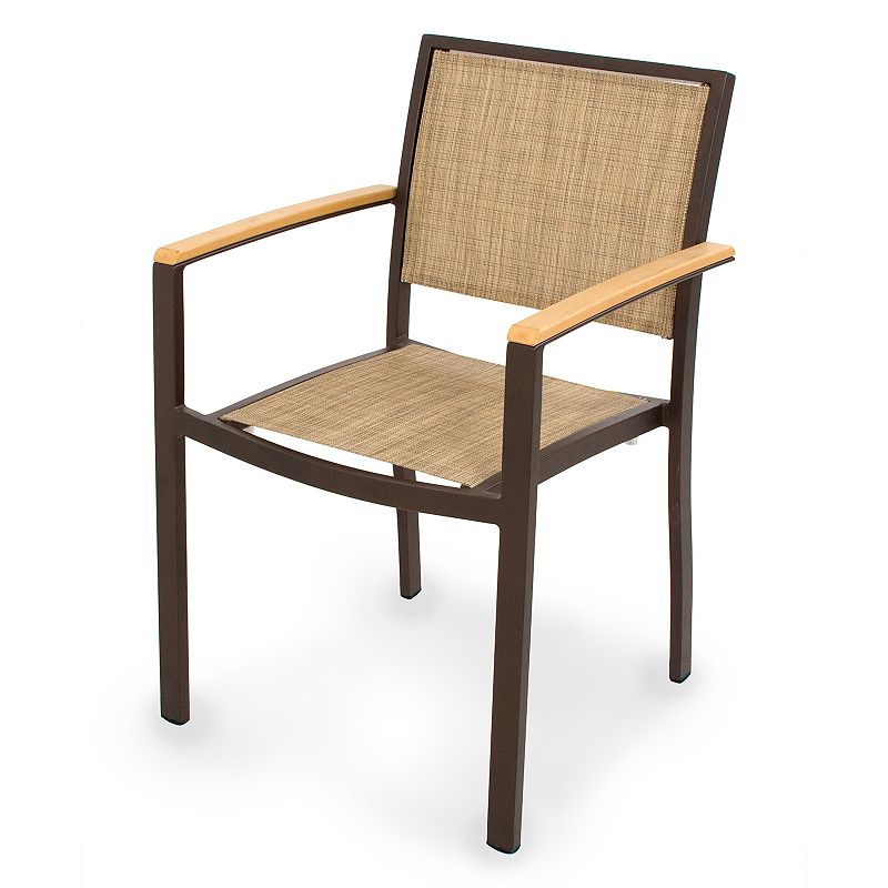 POLYWOOD Bayline Arm Chair - Outdoor