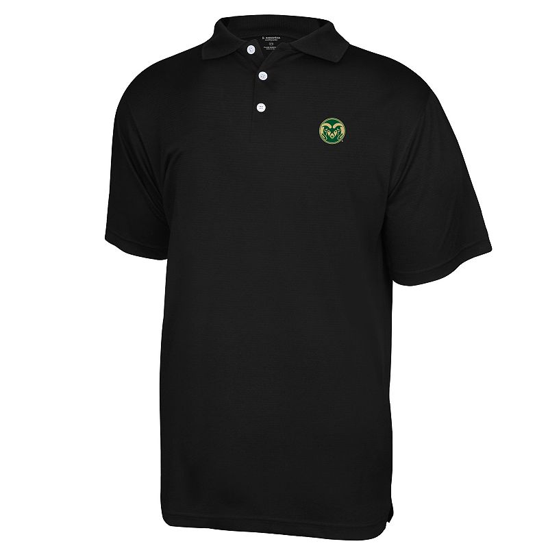 Men's Colorado State Rams Colorblock Polo