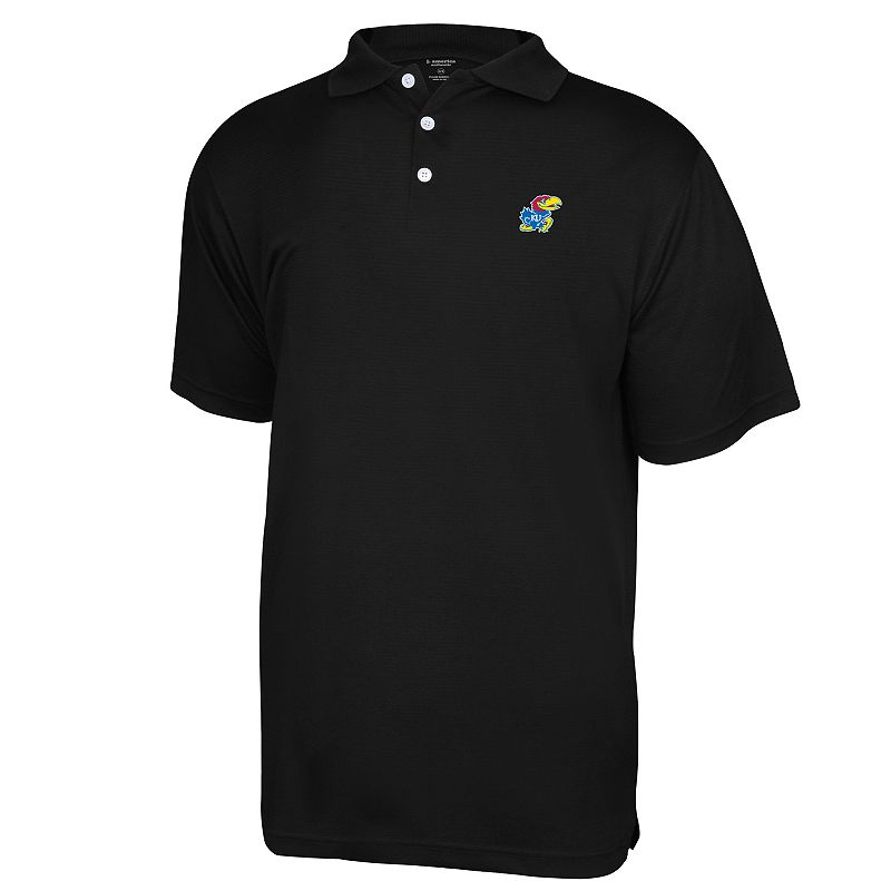Men's Kansas Jayhawks Colorblock Polo