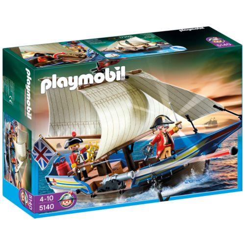 Playmobil Redcoat Battle Ship - 5140