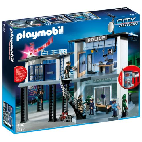 Playmobil Police Station with Alarm System - 5182