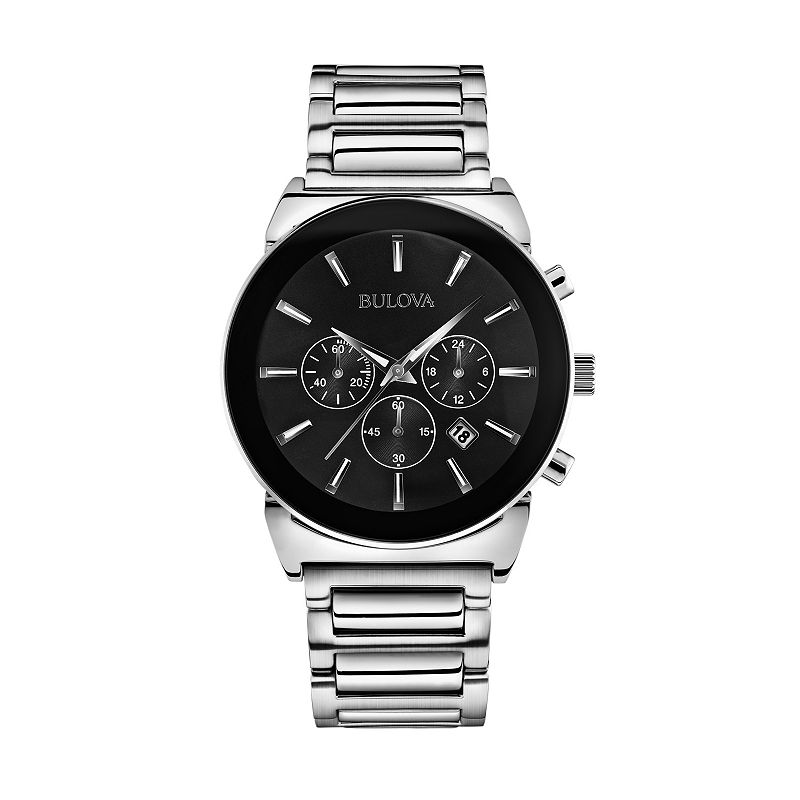 Bulova Men's Stainless Steel Chronograph Watch - 96B203