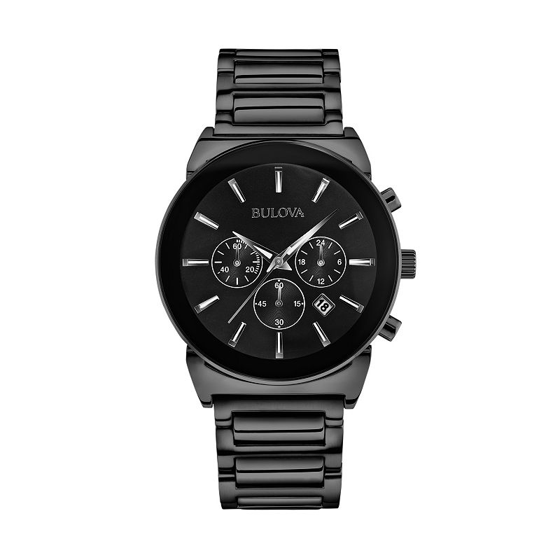 Bulova Men's Stainless Steel Chronograph Watch - 98B215