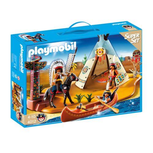 Playmobil SuperSet Native American Camp - 4012