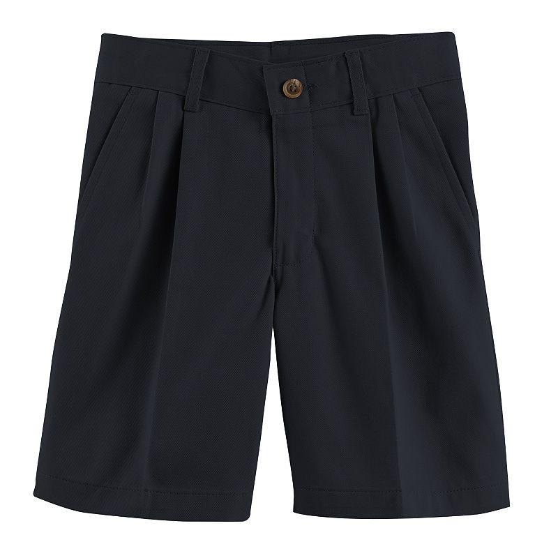 Chaps Pleated Twill School Uniform Shorts - Boys 4-7